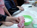 Мастер-класс по валянию валенок из шерсти Липецкая Юношеская библиотека
